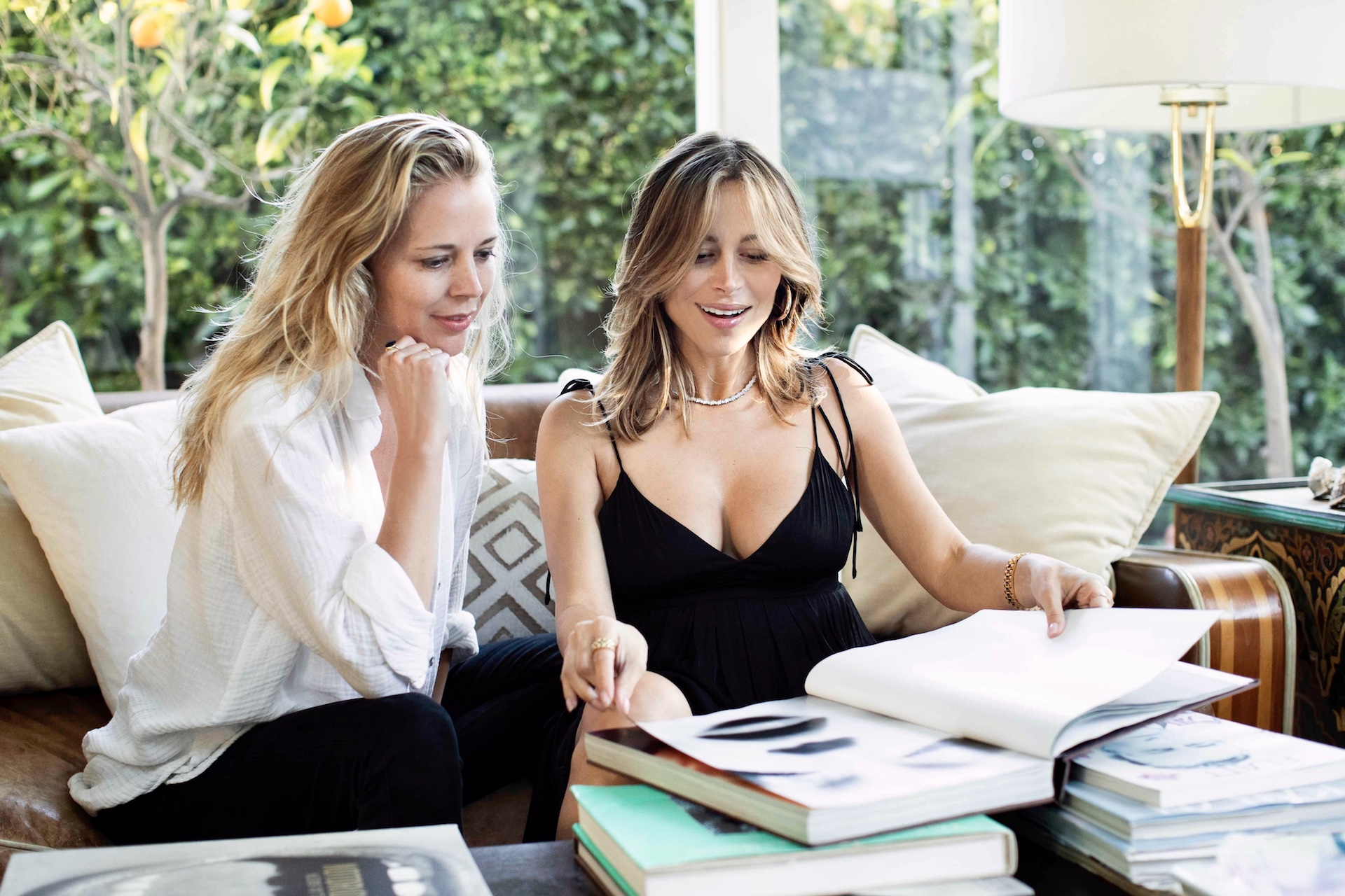Julie and Zulay photo cred Michael Haber